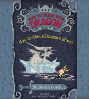 Cover image for How to ride a dragon's storm. bk. 7 Hiccup Horrendous Haddock III series