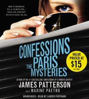 Cover image for The Paris mysteries. bk. 3 [sound recording CD] : Confessions series
