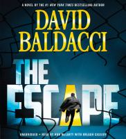 Cover image for The escape. bk. 3 [sound recording CD] : John Puller series