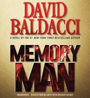 Cover image for Memory man. bk. 1 [sound recording CD] : Amos Decker series