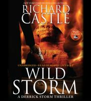 Cover image for Wild storm. bk. 5 [sound recording CD] : a Derrick Storm thriller series