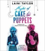 Cover image for Night of cake & puppets [sound recording CD]