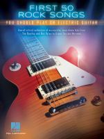 Cover image for First 50 rock songs you should play on electric guitar.