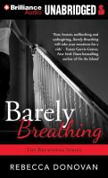 Imagen de portada para Barely breathing. bk. 2 [sound recording MP3] : Breathing series