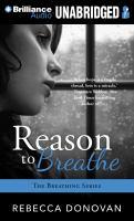 Imagen de portada para Reason to breathe. bk. 1 [sound recording MP3] : Breathing series