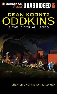 Cover image for Oddkins [sound recording CD] : a fable for all ages