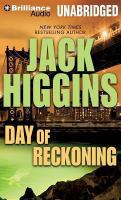 Cover image for Day of reckoning. bk. 8 [sound recording CD] : Sean Dillon series