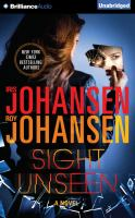 Cover image for Sight unseen. bk. 2 [a novel] : Kendra Michaels series