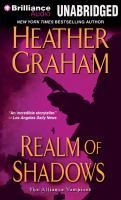 Cover image for Realm of shadows. bk. 4 [sound recording CD] : Alliance vampires series