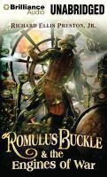 Cover image for Romulus Buckle & the engines of war. bk. 2 Chronicles of the Pneumatic Zeppelin series