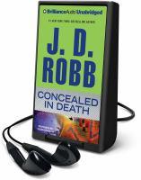 Imagen de portada para Concealed in death. bk. 38 In death series