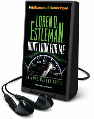 Cover image for Don't look for me. bk. 23 [Playaway] : Amos Walker series