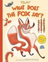 Cover image for What does the fox say?