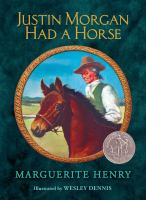 Cover image for Justin Morgan had a horse