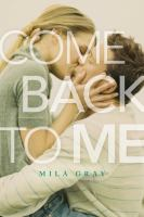 Cover image for Come back to me