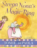 Cover image for Strega Nona's magic ring