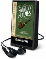 Cover image for In the company of Sherlock Holmes [Playaway] : stories inspired by the Holmes Canon