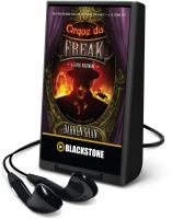 Cover image for A living nightmare. bk. 1 [Playaway] : Cirque du Freak series