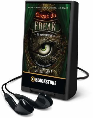 Cover image for The vampire's assistant. bk. 2 [Playaway] : Cirque du Freak series