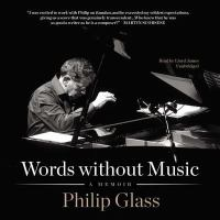Cover image for Words without music [sound recording CD] : a memoir