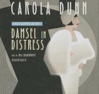 Cover image for Damsel in distress. bk. 5 [sound recording CD] : Daisy Dalrymple mystery series