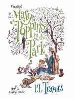 Cover image for Mary poppins in the park Mary Poppins Series, Book 4.