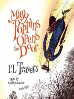 Cover image for Mary poppins opens the door Mary Poppins Series, Book 3.