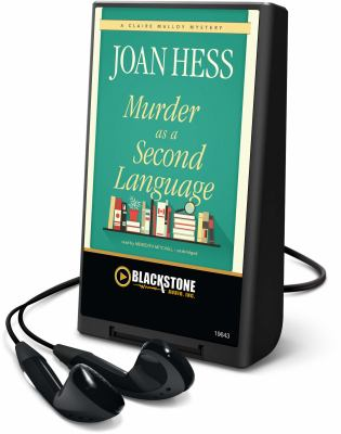 Cover image for Murder as a second language. bk. 19 Claire Malloy series