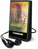 Cover image for Watch your back. bk. 4 Baltimore series