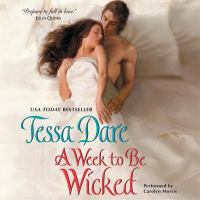 Cover image for A week to be wicked. bk. 2 [sound recording CD] : Spindle Cove series