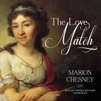 Cover image for The love match. bk. 3 [sound recording CD] : Waverly women series