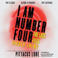 Cover image for Hidden enemy. bk. 3 [sound recording CD] : I am number four. The lost files omnibus