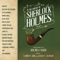 Cover image for In the company of sherlock holmes Stories Inspired by the Holmes Canon.