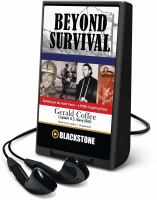 Cover image for Beyond survival [Playaway] : building on the hard times--a POW's inspiring story