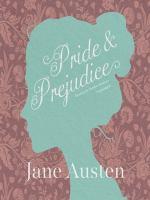 Cover image for Pride and prejudice