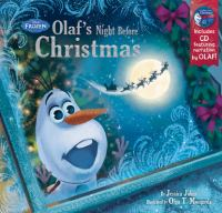 Cover image for Olaf's night before Christmas : Frozen