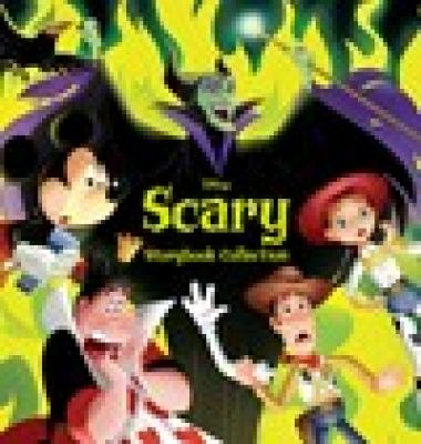 Cover image for Disney scary storybook collection