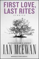 Cover image for First love, last rites stories