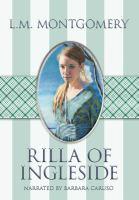 Cover image for Rilla of Ingleside