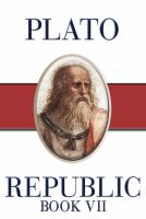 Cover image for The republic. Book VII