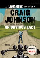 Cover image for An obvious fact. bk. 13 Walt Longmire mysteries series