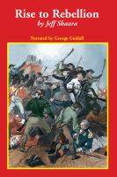 Cover image for Rise to rebellion