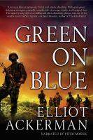 Imagen de portada para Green on blue a novel