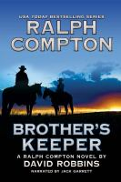 Cover image for Ralph Compton brother's keeper