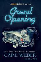 Imagen de portada para The grand opening a family business novel