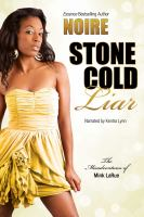 Cover image for Stone cold liar misadventures of mink larue