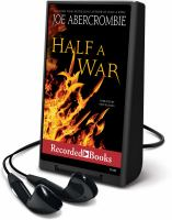 Cover image for Half a war. bk. 3 Shattered sea series