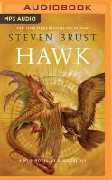Cover image for Hawk. bk. 14 [sound recording MP3] : Vlad Taltos series