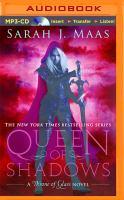 Imagen de portada para Queen of shadows. bk. 4 [sound recording MP3] : Throne of glass series