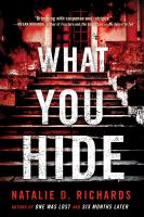 Cover image for What you hide